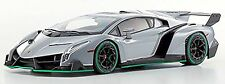 Lamborghini Veneno Coupé 2013 Gris vert Ligne 1:18 Kyosho