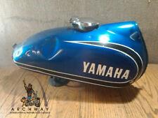 1973 Yamaha AT3  BLUE Gas Fuel Petrol Tank Cell Reservoir OEM #315-24110-00