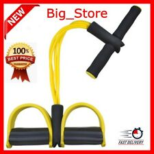 Body Stretching Fitness Tummy Trimmer Yellow PullUp Exerciser For Home Gym Yoga