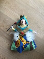 """Gladys Boalt Christmas Ornament """"Queen of Hearts"""" 1983 Alice in Wonderland"""