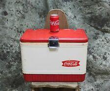 Vintage Portable Coleman Coca Cola Cooler