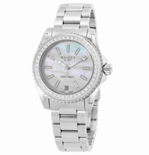 Gucci Dive Diamond & Mother Of Pearl Dial Stainless Steel Ladies Watch (£1400)