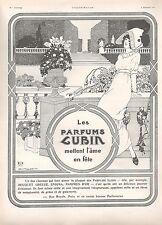 ▬► PUBLICITE ADVERTISING AD PARFUM PERFUME LUBIN BRUNELLESCHI 1911
