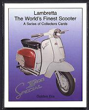 LAMBRETTA - WORLD'S FINEST SCOOTER - Collectors Card Set - TV175 Li150 GP200 LD