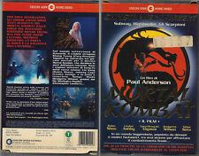 MORTAL KOMBAT - IL FILM [1995] vhs ex noleggio