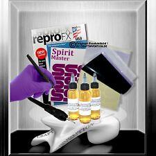 10x USA Spirit Master Matritzenpapier + 80 ml Abzugsflüssigkeit + 1x Skinmarker