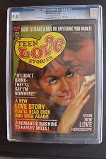 TEEN LOVE STORIES #3 Warren Magazine HAYLEY MILLS 1968 GGA Comics CGC NM/MT 9.8