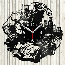 Batman Vinyl Record Wall Clock Decor Handmade 3802