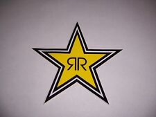 "Rockstar Energy Drink 7"" Star Logo Sticker Decal skater motocross New!"