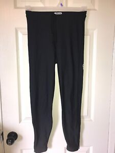Pearl Izumi Cycling Thermal Pants Ankle Zip SZ-M Great Shape Black