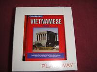 Pimsleur Basic Vietnamese Language Course Playaway Format