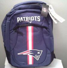 New England Patriots Logo Action BackPack School Bag Back Pack Gym Travel Book