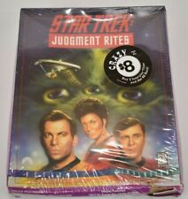 Star Trek Judgement Rites Vintage PC Game Never opened Windows CD Rom