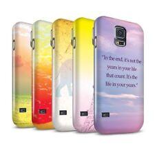 Housses et coques anti-chocs brillants Samsung Galaxy S5 pour téléphone mobile et assistant personnel (PDA)