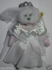 "SKANSEN BEANIE KID ""PRINCESS ANNABELLE THE BRIDE BEAR""    MWMT   DECEMBER - 2009"