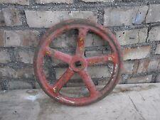 Industrial steampunk Decor Cast Iron gear sprocket wheel valve