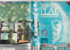 SHADOW PLAY DEE WALLACE CLORIS LEACHMAN RON KUHLMAN RARE PAL VHS VIDEO