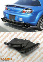 Mazda RX8 Varis Style Side Diffusers Extensions Add Ons for Racing v8