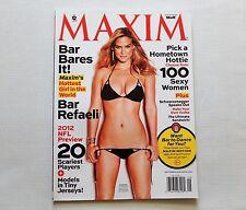 Bar Rafaeli Maxim Magazine September 2012 New