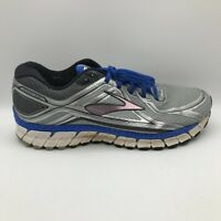 Brooks Mens GTS Running Shoes Gray Blue Lace Up Low Top Mesh Sneakers 12 M