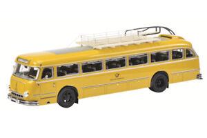 SCH8935 - Bus of The Deutsche Post Magirus Deutz O6500 Edited To 1000 Parts MO