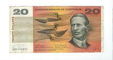 Australia -  Twenty (20) dollars  1968