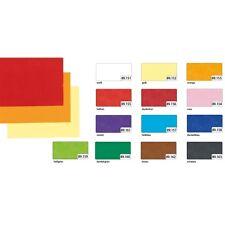 Seidenpapier, 50 x 70 cm, 25 Bogen, freie Farbwahl