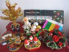 Vintage décorations de Noël-lot mixte