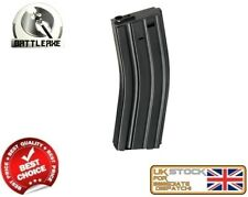 BATTLEAXE M SERIES M4/16 MID CAP 200 STEEL MAGAZINE BLACK AIRSOFT FBP2365