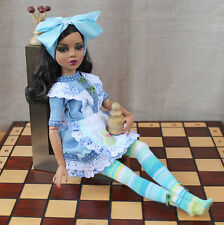 "Tonner Ellowyne Wilde outfit 'Alice Through the Looking Glass' handmade 16"" doll"
