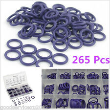 265 Pcs Car Offroad HNBR A/C System Air Conditioning Assortment O Ring Seals Kit