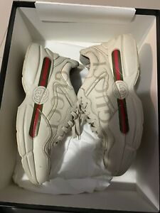 GUCCI RYTHON SNEAKERS Size 8 (41) Retail $890