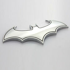 3D Chrome Metal bat batman auto car truck sticker badge emblem logo decal Cool