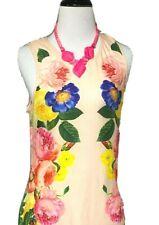 Derek Heart Womens Floral Sleeveless Dress L