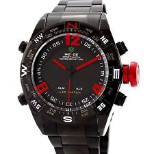 Weide Orologio Da Polso Uomo Militare Analogico E Digitale Led Water Resist lac