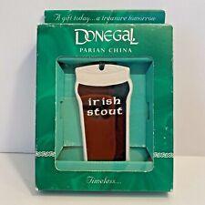 Nib Donegal Parian China Irish Stout Beer Christmas Ornament - Made in Ireland