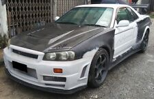 Nissan Skyline GTT34 Convert GTR34 Z Tune Style Full Wide Body Kit