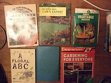 25 Gardening books. Many by famous authors.