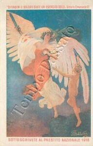 Prima guerra mondiale - Prestito nazionale / illustratore Ballester