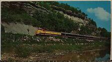 Original Vintage Railroad Postcard– Train– Engine– Butler Bluff- Noel MO- Ozarks
