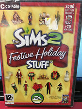 NEW Sealed Game The Sims 2 Festive Holiday Stuff (PC CD)Action, Adventure