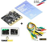 BBC Micro:Bit Officiel avec 10 câbles Pince crocodile MicroBit Arduino Raspberry