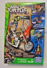 Mega Bloks Teenage Mutant Ninja Turtles/Moto Attack Rocksteady m.2 Figuren 86tlg