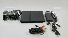 Sony Playstation 2 slim black + 1 Kontroller + Kabel - tested SCPH-77004