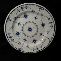 "Vintage Furnivals Blue Denmark 10 1/8"" Dinner Plate Made In England Very Good"