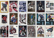 Patrick Roy Inserts Parallels - Choose From List Montreal Canadiens Avalanche
