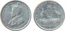 Foreign Coin, Australia, George V, Silver Florin, 1916M