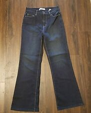 Women's Levi's 512 Boot Cut Denim Jeans ~ Blue ~ Sz 10 S/C ~ Perfectly Slimming