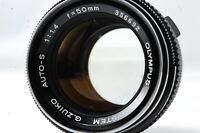 Olympus OM-SYSTEM G.ZUIKO AUTO-S 50mm F1.4 Lens SN356692 **Excellent+**
