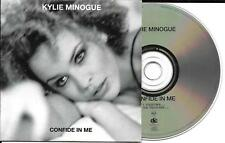 CD CARTONNE CARDSLEEVE 2 TITRES KYLIE MINOGUE CONFIDE IN ME FRENCH STICKER 1994